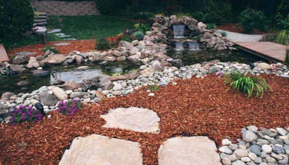 Install davidson nc ponds company build davidson water for Koi pond installation cost