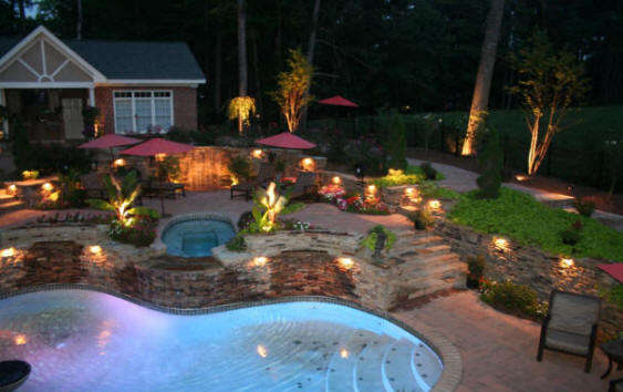 Columbia Sc In Ground Pools Typically Come Three Varieties Concrete With Various Finishes Vinyl Liner And Fibergl Are More