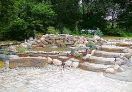 Charlotte Water Gardens We Do It All Low Cost Koi Ponds Streams Charlotte Waterfalls