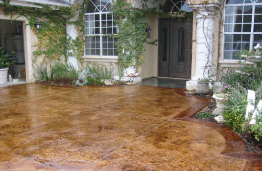 Local Near Me Stained Concrete Contractors We Do It All