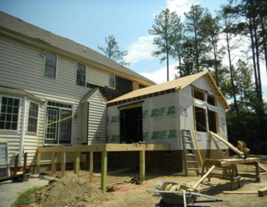 Atlanta Build amp RepairRescreen Screen Porch Room