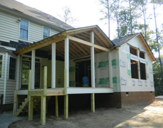 Atlanta Build Amp Repair Rescreen Screen Porch Room
