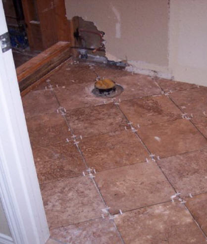 Atlanta georgia shower pan installation repair contractors for Bathroom floor repair contractor