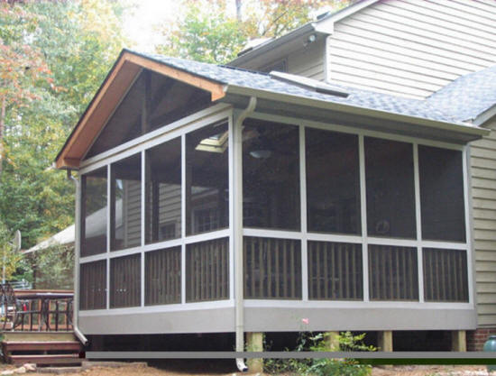 Fort Mill Sc Rock Hill Porch Screen Room Builders We Do