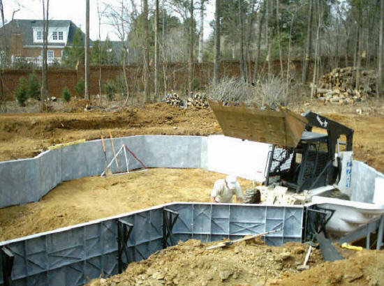 Charlotte nc swimming pool builders pool contractors - Public swimming pools in charlotte nc ...
