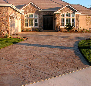 Charlotte nc concrete contractors we do it all overlay stamped we can also provide a charlotte nc driveway extension turn around or parking pad to meet your needs solutioingenieria Images