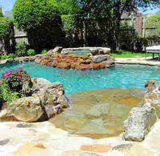 Charlotte nc remodle swimming pool design contractor for Pool and spa show charlotte nc